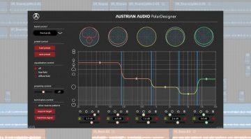 Austrian Audio Polar Designer - ein Fünfband Editor für Richtcharakteristiken