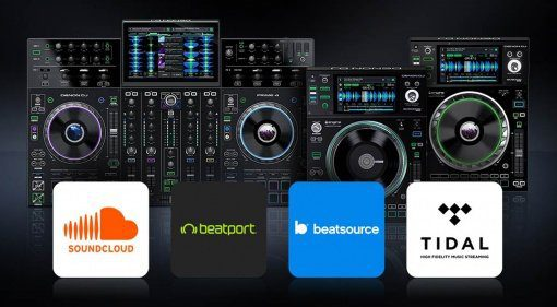 Stand-alone Streaming für Denon DJ Prime 4, SC5000 und SC5000M