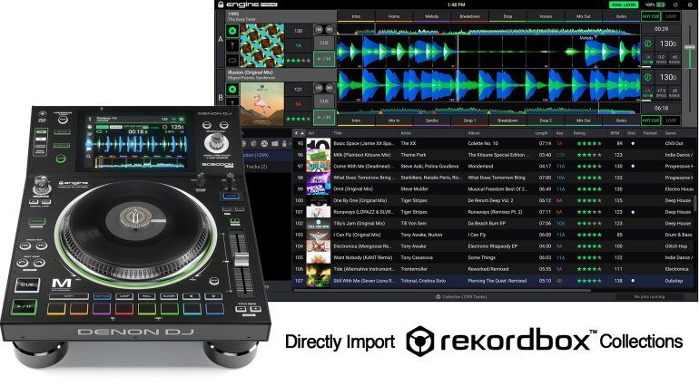 Denon DJ Engine Prime Spring Update