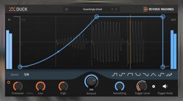 Devious Machines Duck - Sidechain Ducking und sonstige Modulationen als Plug-in