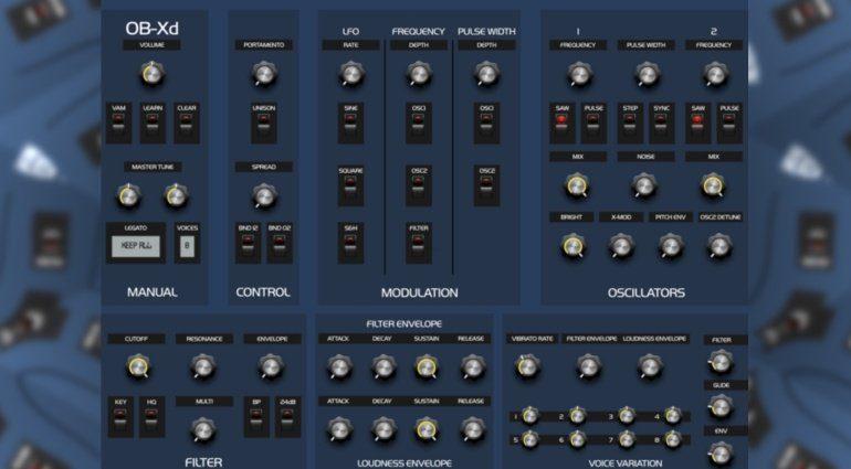 DiscoDSP veröffentlicht OB-Xd Synthesizer Plug-in für iOS