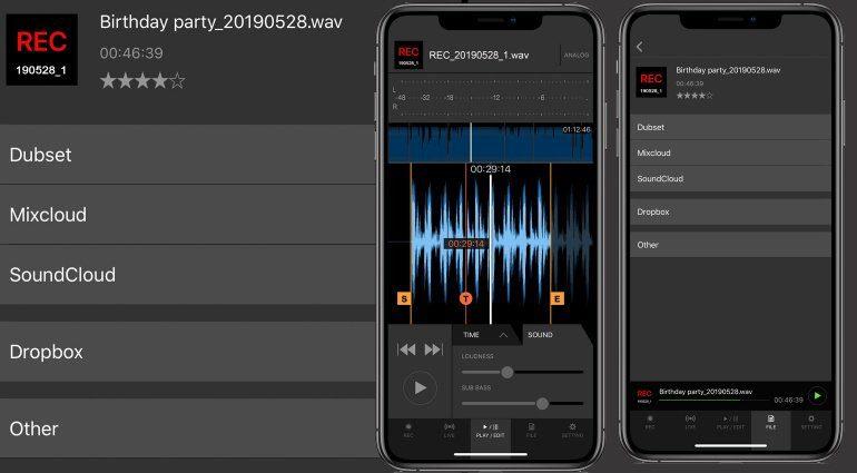 DJM-Rec kompatibel mit Dubset