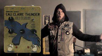 Dwardfcraft Eau Claire Thunder Gold Standard Effekt Pedal Front Teaser