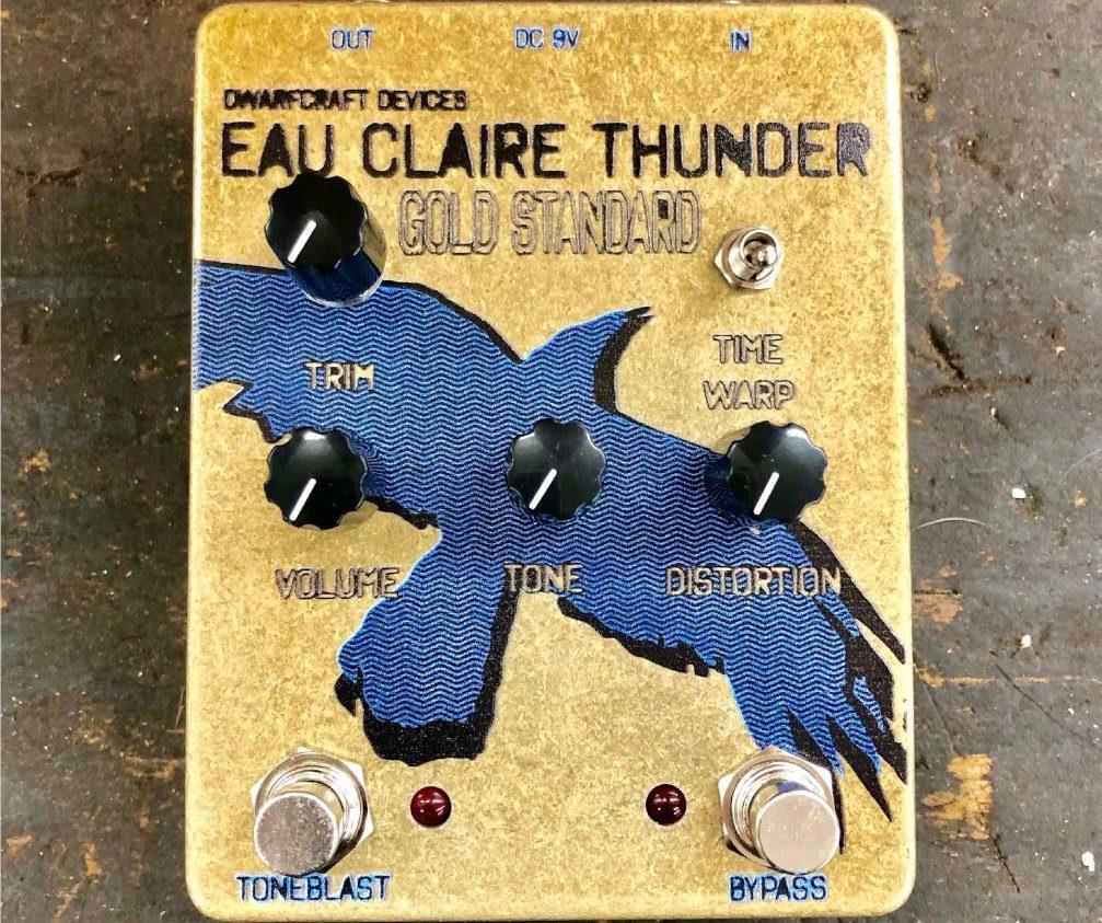 Dwardfcraft Eau Claire Thunder Gold Standard Effekt Pedal Front