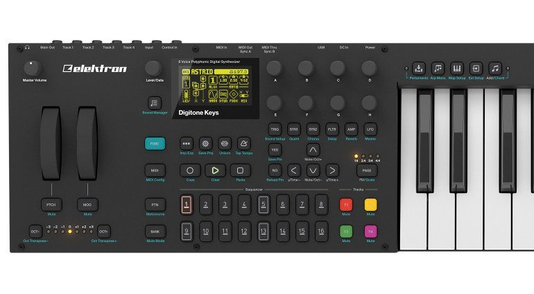 Elektron Digitone Keys