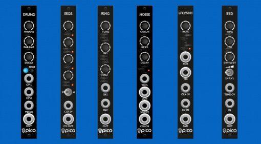 Superbooth 2019: Erica Synths erweitert das Pico-Sortiment mit weiteren sechs Modulen