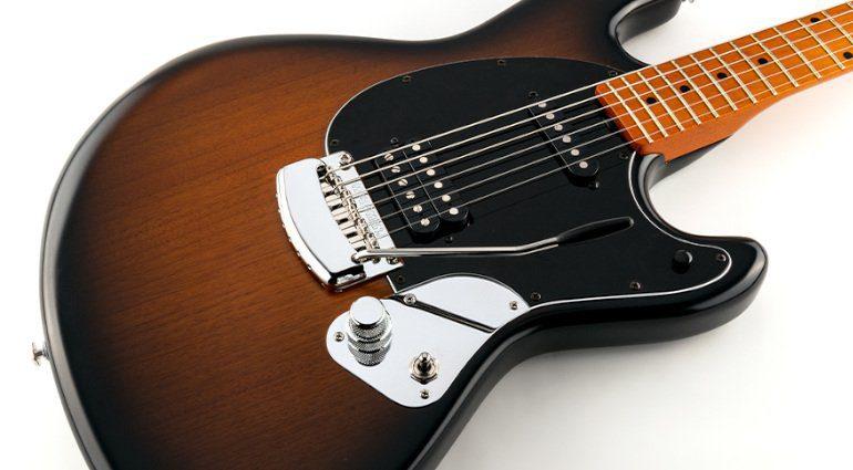 Ernie Ball Music Man StingRay Guitar Artist Series Dustin Kensrue Thrice Signature E-Gitarre Body
