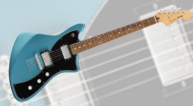 Fender Meteora HH LAke Placid Blue Front
