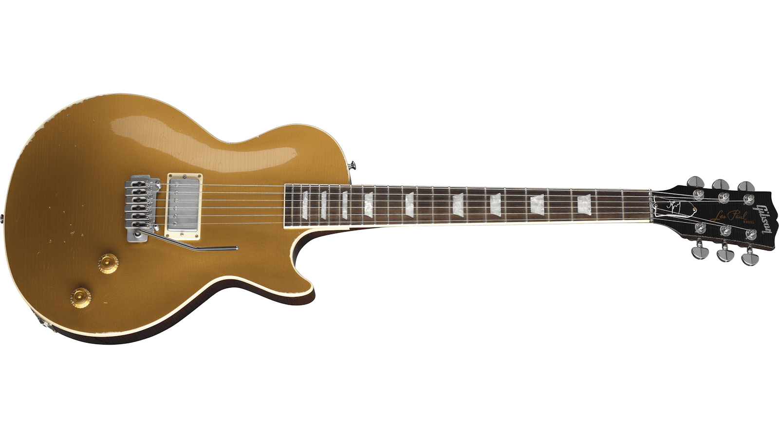 Gibson Joe Perry Gold Rush Les Paul Axcess