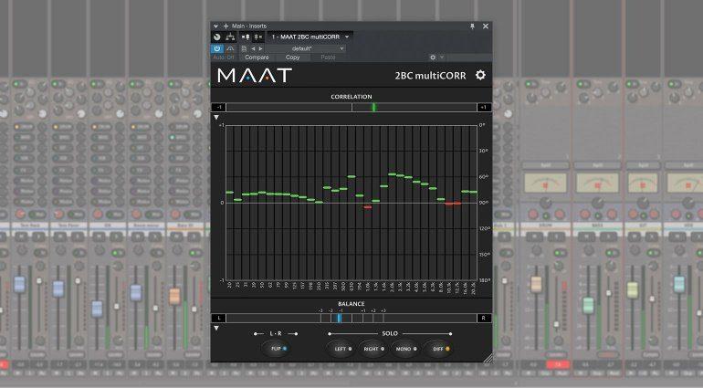MAAT veröffentlicht den 2BC multiCORR Multiband Korrelationsgradmesser