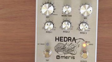 Meris Hedra Pedal Effekt FX Pitch Shifter Delay