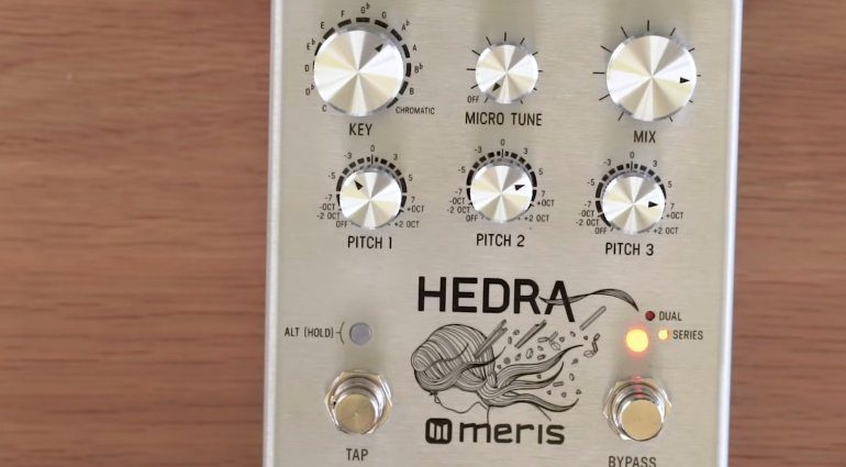 Meris Hedra Pedal Effekt FX Pitch Shifter Delay