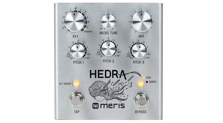 Meris Hedra Pedal Effekt FX Pitch Shifter Delay Front