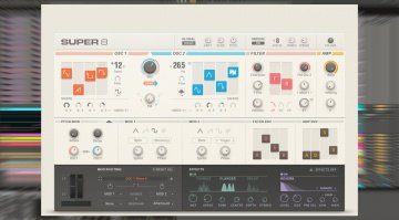Native Instruments Super 8 - ein neuer virtuell analoger Synthesizer für Reaktor 6