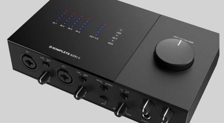 Native Instruments Komplete Audio 6 USB-Audiointerface