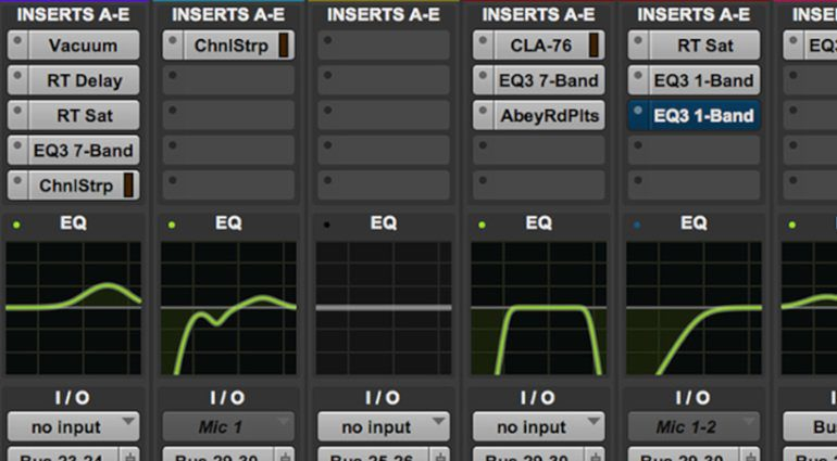 Pro Tools 2019 05 Update DAW Mixer EQ