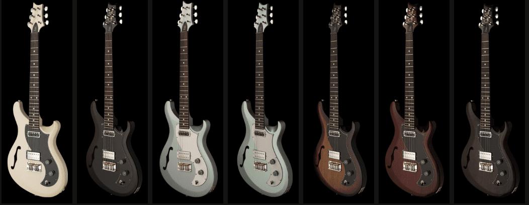 PRS S2 Vela Semi-Hollow Modelle Farben