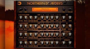 Sample Science Northern Boarders - Vintage Synthesizer Sounds für den Boards of Canada Klang