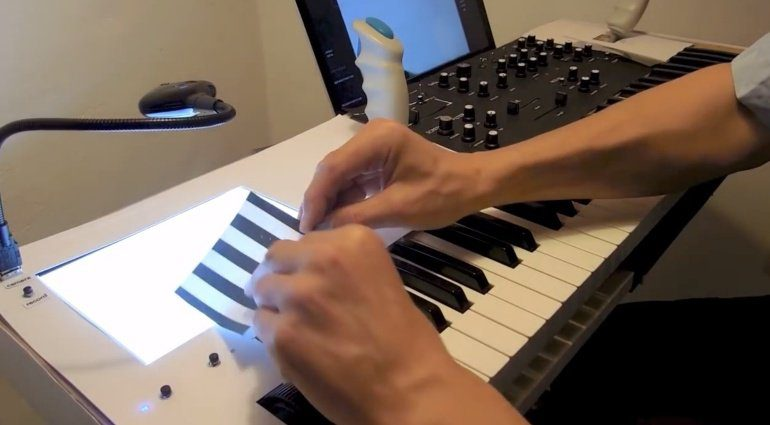 Silhouette Video to Audio Synthesizer