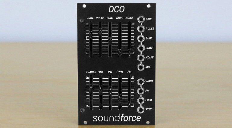 Superbooth 2019: SoundForce stellt Juno-basierten DCO für das Eurorack System vor