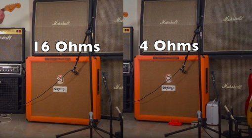 Speaker 4 vs 16 ohm sound vergleich johan segeborn teaser vergleich