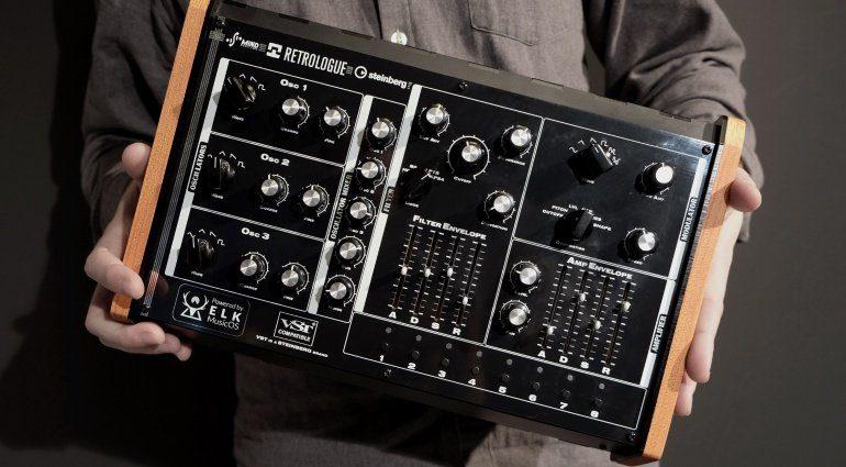 Superbooth 2019: Steinberg und Mind Music Labs präsentieren den Retrologue 2 Hardware Synth