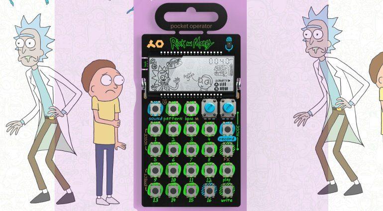 TE PO137 Rick and Morty