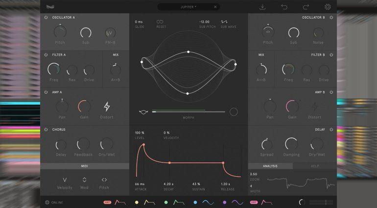 Wave Casual Nylon - ein VST-Synth mit geometrischen Oszillatoren