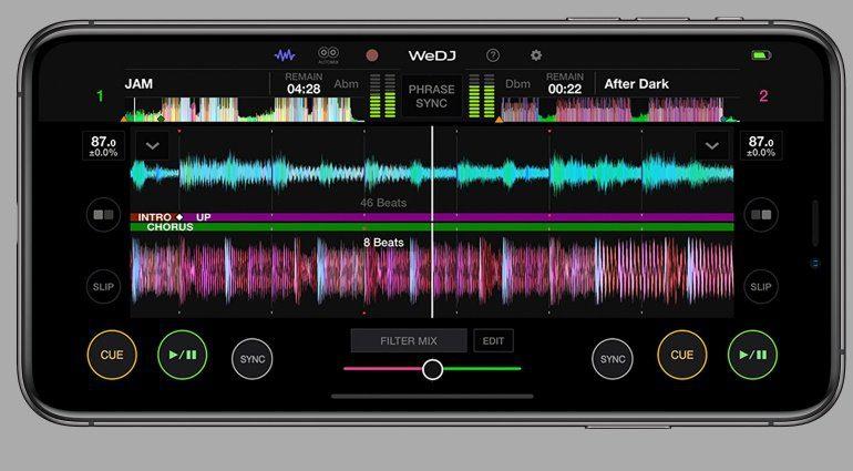 Pioneer DJ WeDJ App