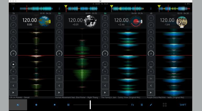 iMect DJ Player Professional Mac Beta