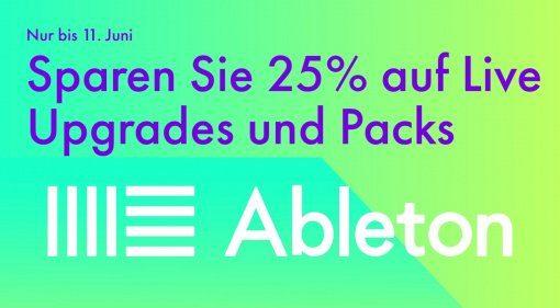 Deal: Ableton Live 10 für kurze Zeit mit 25 Prozent Rabatt!