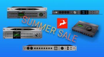 Sommerangebote: Antelope Audio senkt für kurze Zeit die Hardware-Preise!