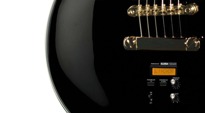 Behringer E-Gitarre LEs Uli Singlecut Klark Teknik Effekt leak fake