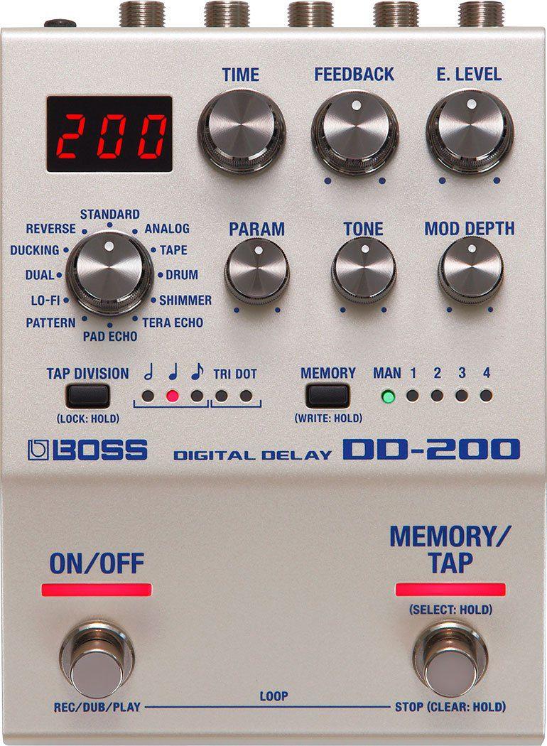Boss DD-200 Effekt Pedal