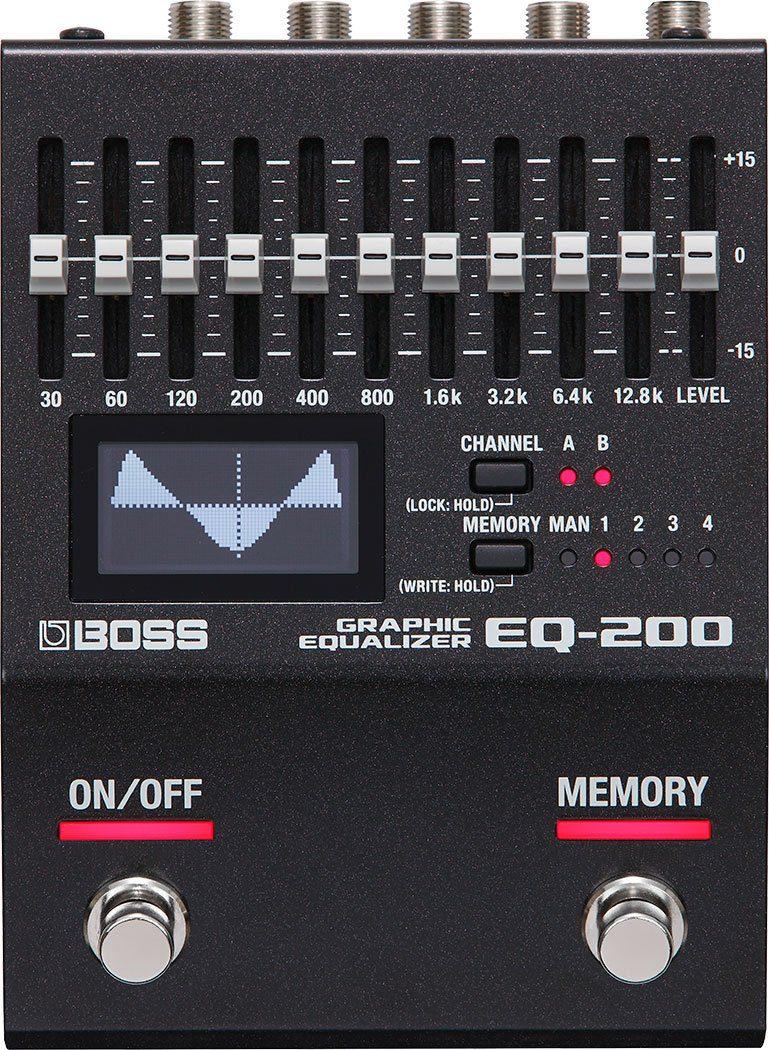 Boss EQ-200 Effekte Pedal