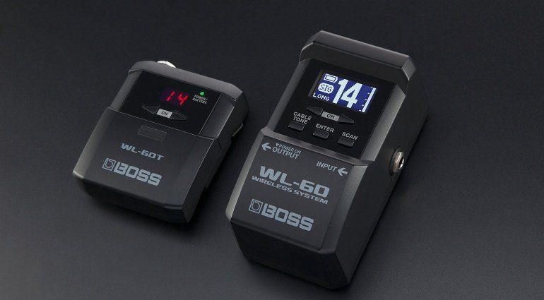 Boss WL-60 Transmitter Sender Receiver Empfaenger Teaser