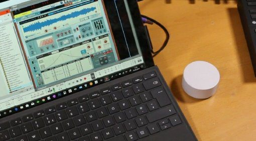 HI!computer Elephant - Synthesizer mit dem Microsoft Surface Dial steuern