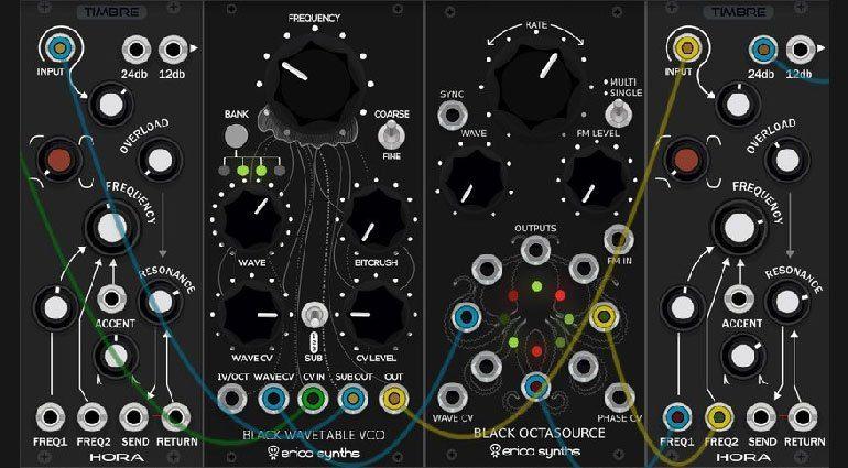 Neue Erica Synths Module für das VCV Rack