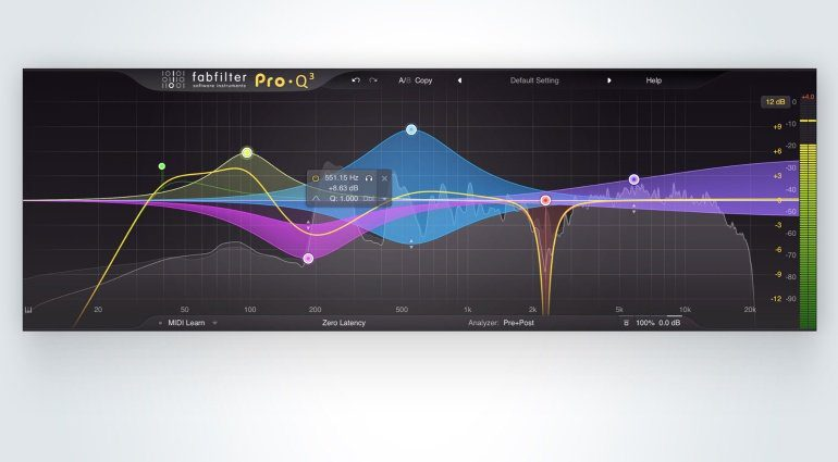 FabFilter Pro-Q 3 Equalizer