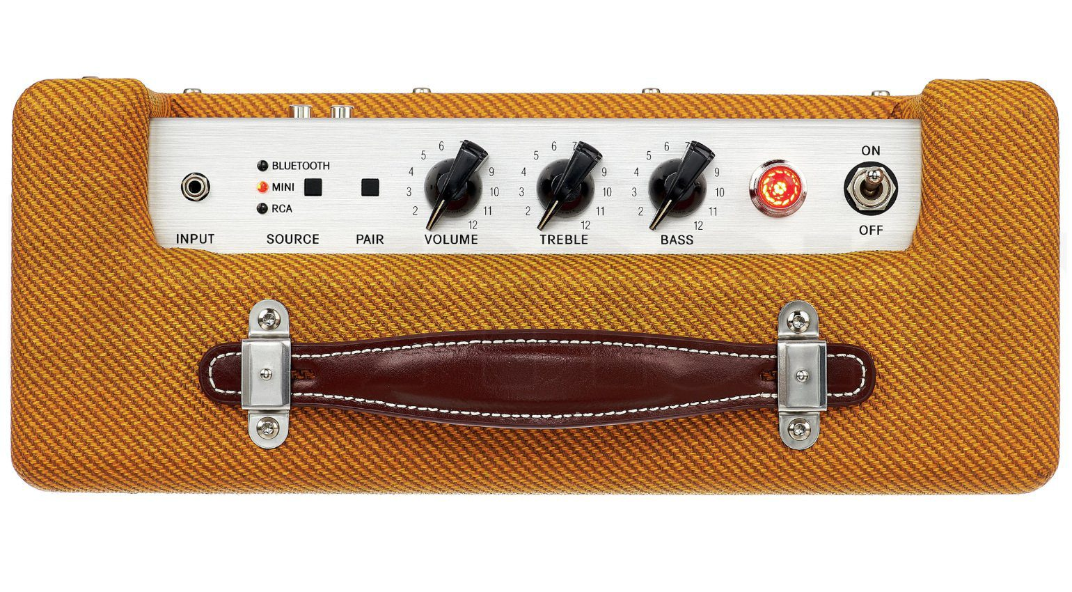 Fender Monterey Bluetooth Speaker Tweed Panel