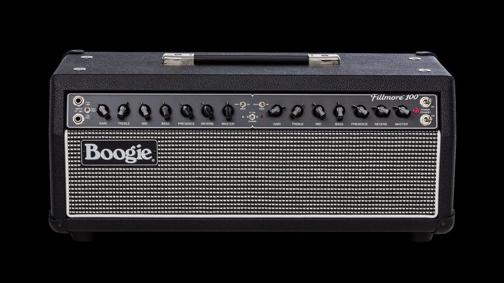 Mesa Boogie Fillmore100 head frt hr