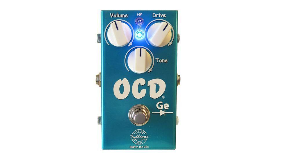 Fulltone cs ocd ge germanium overdrive effekt