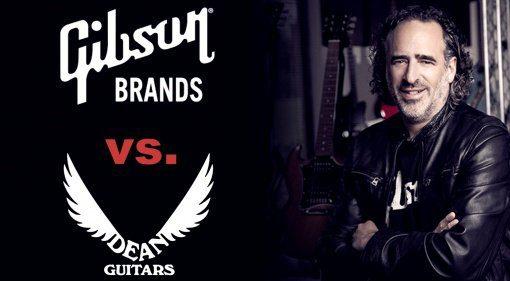 Gibson verklagt Dean Guitars