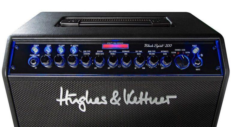 Hughes Kettner Black Spirit 200 Combo Panel