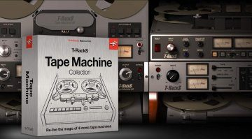 IK Multimedia veröffentlicht Tape Machine Collection für T-RackS