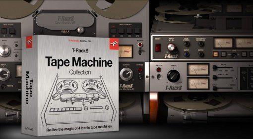 IK Multimedia veröffentlicht Tape Machine Collection für T-RackS
