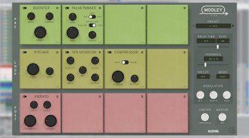 Klevgränd Modley - ein Modulations-Delay Effekt mit etlichen Inserts