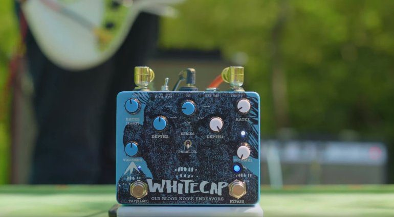 Old Blood Noise Endeavours Whitecap Tremolo Pedal Effekt