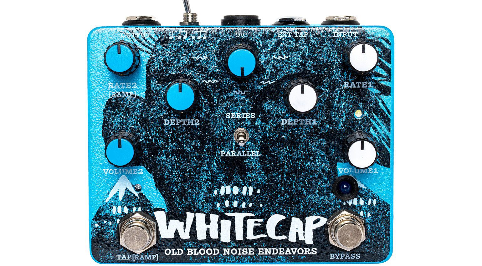 Old Blood Noise Endeavours Whitecap Tremolo Pedal Effekt Front