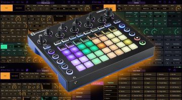 Novation Circuit iPad Editor mit Patch Base